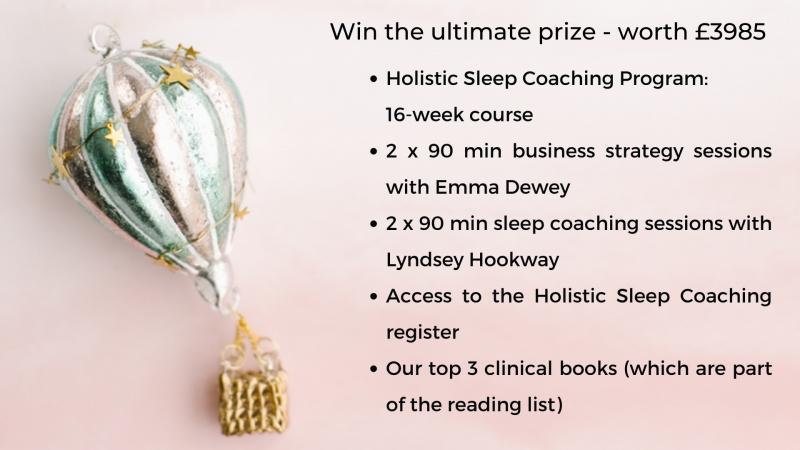 Holistic sleep prize